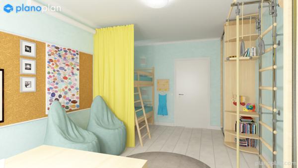 Дизайн детской для мальчика и девочки | Гармонизатор пространства Юлия Смирнова